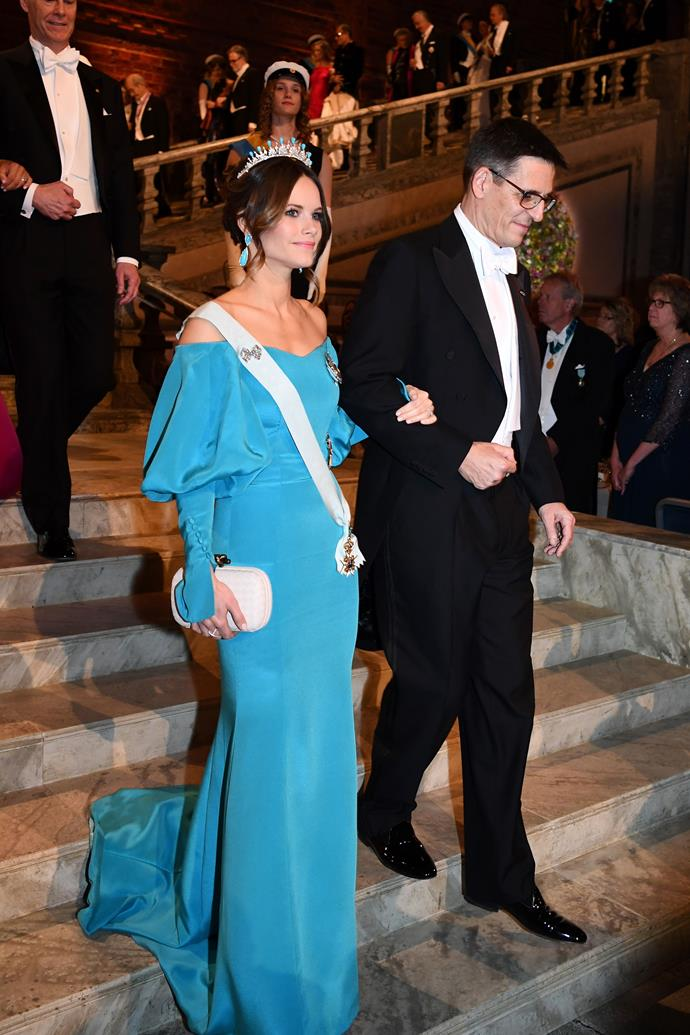 Princess Sofia was an absolute vision as she entered the event.