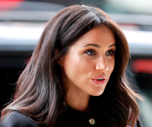 The Palace wasn't impressed with Jennifer Meyer using Meghan's image to promote her brand online.