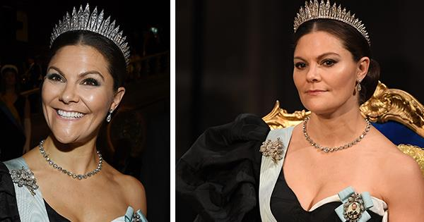 Princess Victoria wears dramatic dress to Nobel Prize ceremony | Australian Women's Weekly