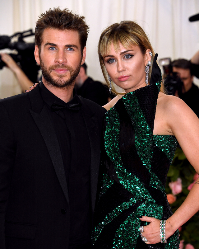 Liam and Miley Cyrus split in August this year.