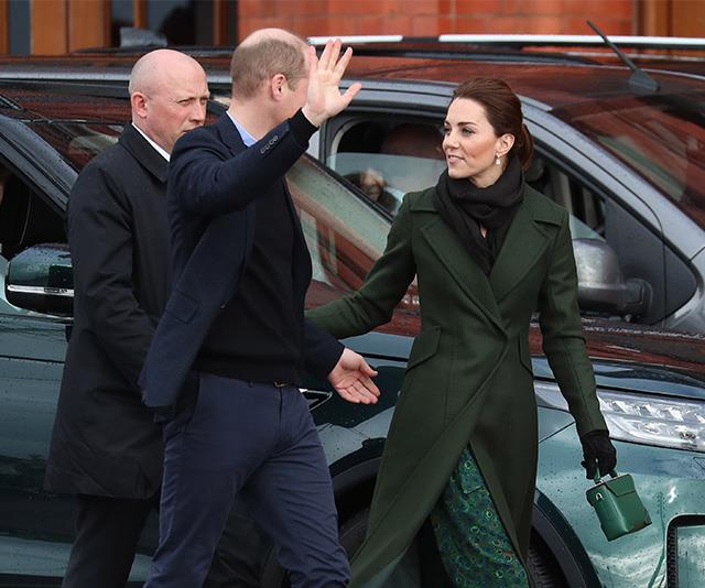 Even when they're out and about at an official royal engagement in public, Kate and Wills still find a way to steal away small moments together.