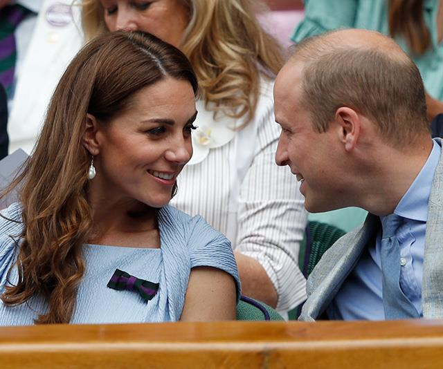 At Wimbledon in late 2019, these two couldn't take their eyes off each other as they sat in the royal box.