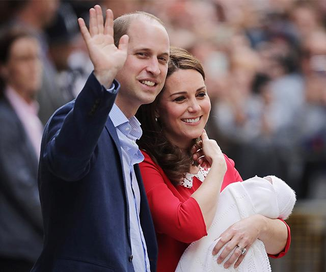 William looked like the ultimate proud husband as he stood beside Kate outside the Lindo Wing in 2018, following the birth of Prince Louis.