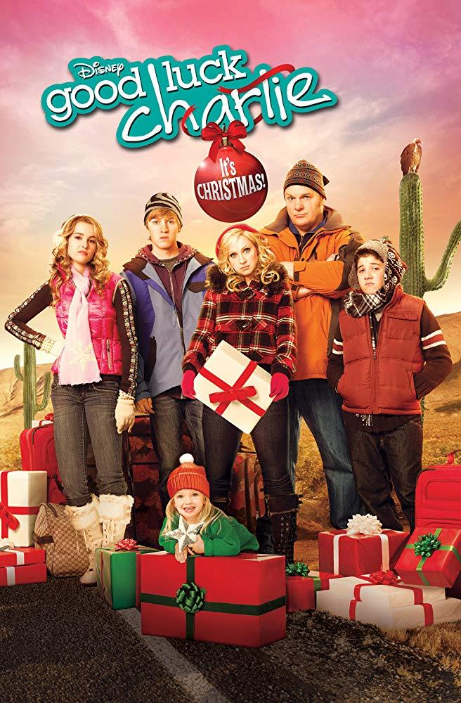 **Good Luck Charlie: It's Christmas! (2011)** <br><br> Teddy (Bridgit Mendler) and Amy (Leigh-Allyn Baker) are separated from the rest of the family as they make their way to Palm Springs, California, for Christmas with the grandparents.