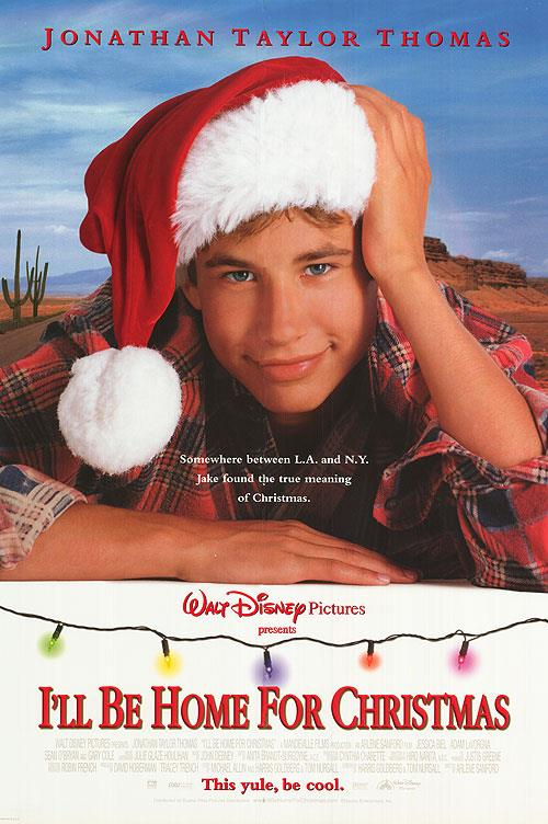 **I'll Be Home for Christmas (1998)** <br><br> Ahh, JTT. Also known as Jonathan Taylor Thomas. Estranged from his father (Gary Cole), college student Jake (JTT) is lured home to New York for Christmas with the promise of receiving a classic Porsche as a gift.