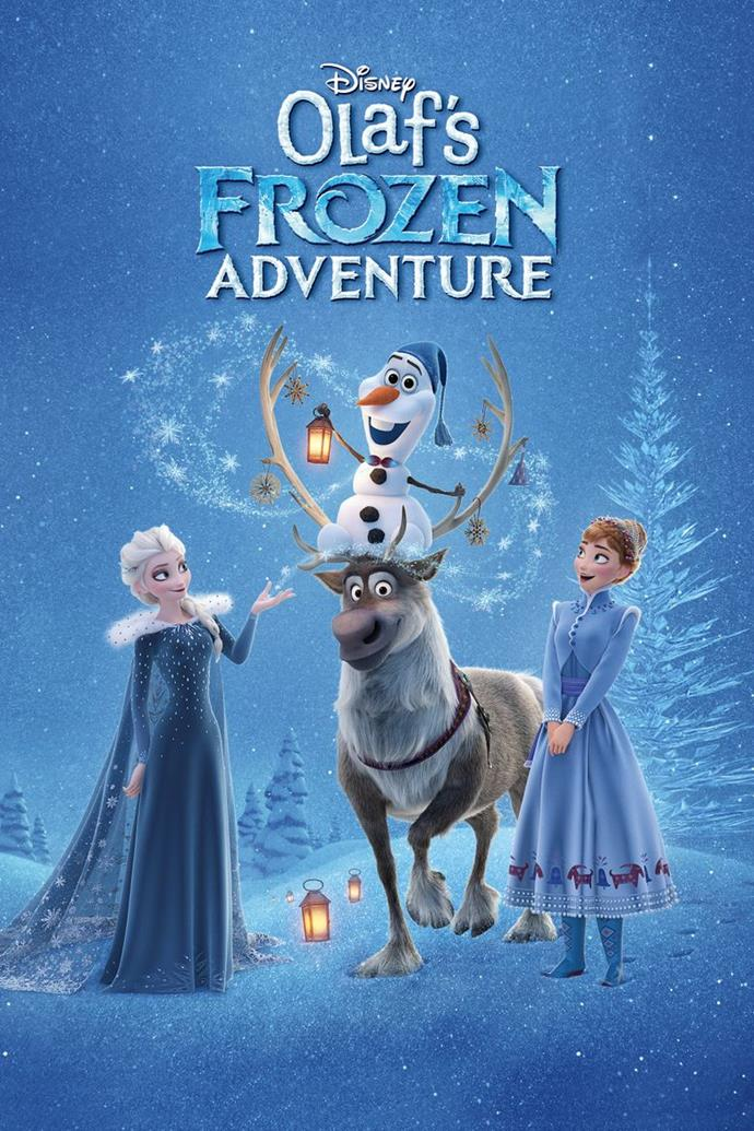 **Olaf's Frozen Adventure (2017)** <br><br> One of Frozen's breakout characters, Olaf (Josh Gad), has his very own adventure as he sets out on a mission to create Christmas traditions for Elsa (Idina Menzel) and Anna (Kristen Bell).