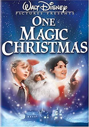 **One Magic Christmas (1985)**  <br><br> Ginny Grainger (Mary Steenburgen) doesn't believe in Christmas and hates that Santa isn't real. Gideon (Harry Dean Stanton), an angel, helps her believe in the true meaning of Christmas.