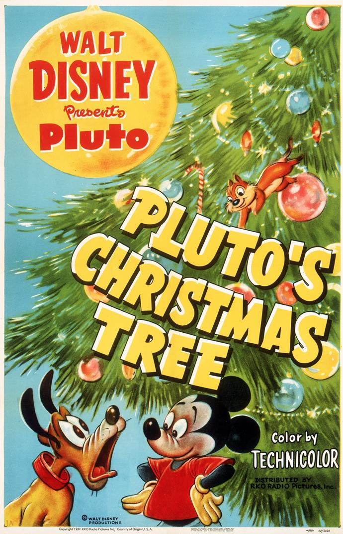 **Pluto's Christmas Tree (1952)** <br><br> This old-school animated film sees Mickey and Pluto out on the search for a Christmas tree.
