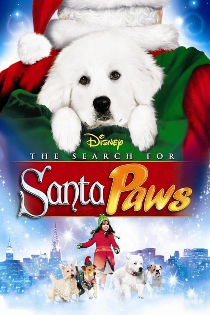 **The Search for Santa Paws (2010)** <br><br> Santa Claus and Santa Paws leave the North Pole on an important mission to convince toy store owner Mr Hucklebuckle to continue his business.
