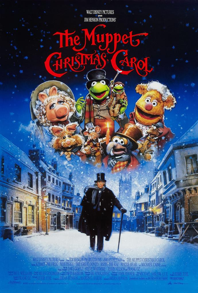 **The Muppet Christmas Carol (1992)** <br><br> Another retelling of Charles Dickens' A Christmas Carol, Michael Caine stars as Ebenezer Scrooge while the Muppets play the other characters in the well-known tale.