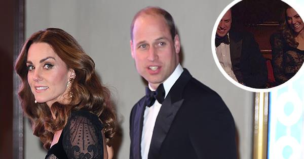 William & Kate's knowing laugh at the Royal Variety Performance is caught on camera | Australian Women's Weekly