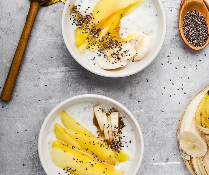 Dairy, organic or natural yoghurt will all give you a good dose of probiotics.
