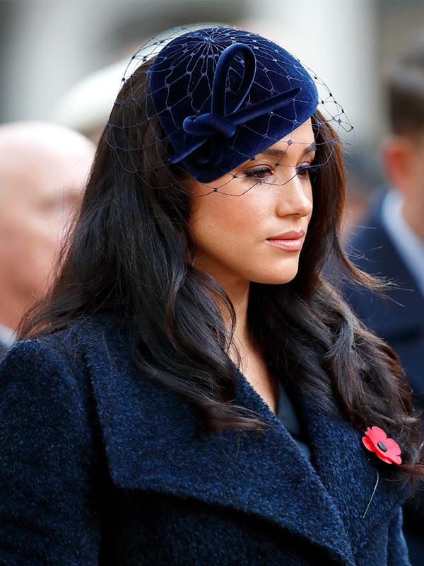 Meghan has been open about her battles during life as a new royal