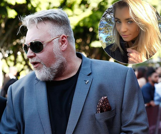 Kyle and girlfriend and business manager Tegan were involved in a heated spat outside Bondi's Beach Road Hotel at the KIIS FM Christmas party.