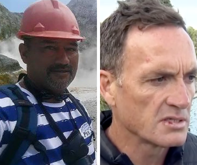 Paul (left) and Mark (right) risked their lives to save others.