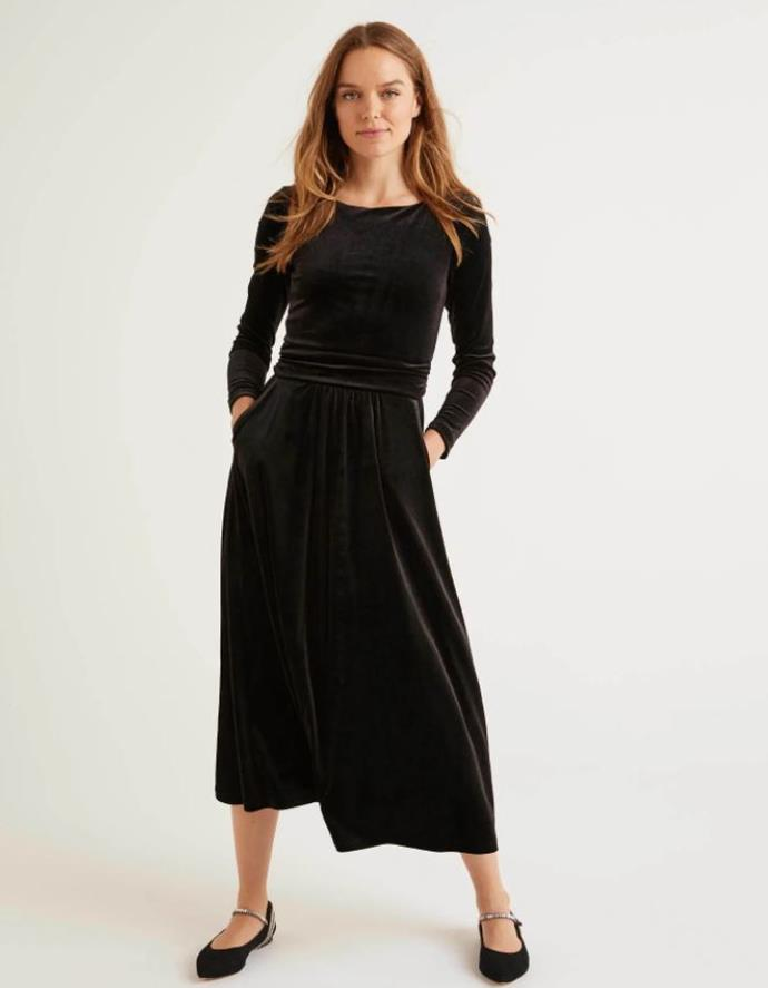 "If sweetheart necklines aren't your thing, try this beautiful Boden louis velvet dress, $180. [Buy it online here](https://www.bodenclothing.com.au/en-au/lois-velvet-dress-black/sty-j0515-blk|target=""_blank""