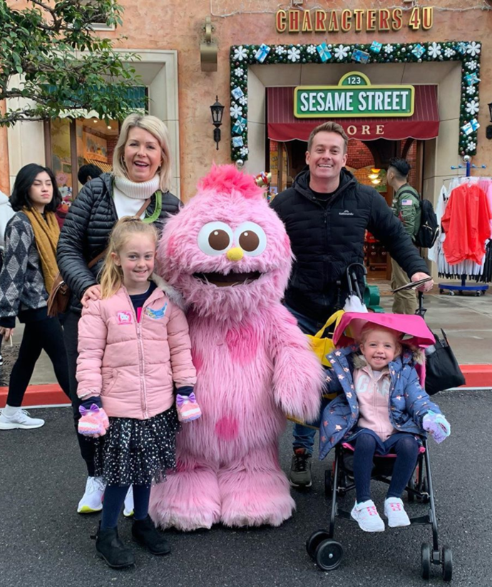 The entire Denyer family recently went on a family trip to Japan.