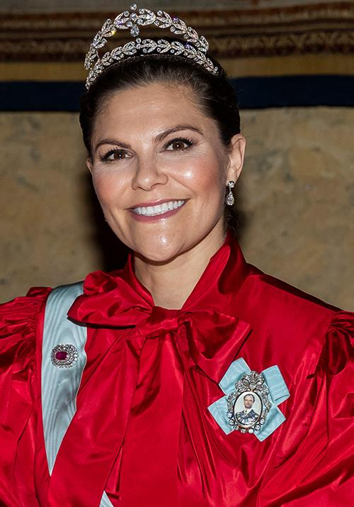 Crown Princess Victoria has put on yet another showstopping fashion display.