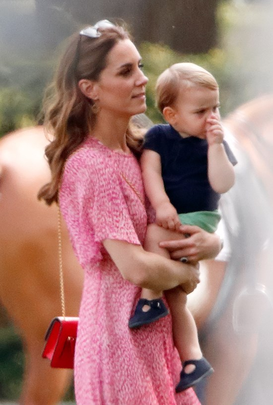 Little Louis enjoyed a day out with his family at a charity polo match earlier this year. *(Image: Getty)*