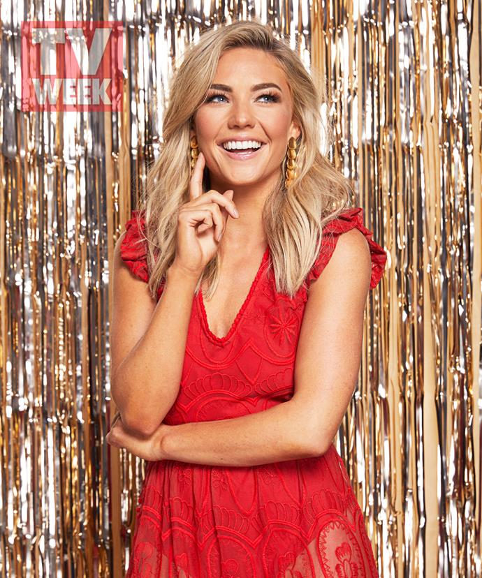 """**Sam Frost found her groove with her second year in Summer Bay** <br><br> When Sam arrived in Summer Bay as Jasmine Delaney in 2018, the then reality star threw herself into the role. <br><br> Moving on from her time on *The Bachelor Australia* in 2014 and as the Bachelorette in 2015, the now 30-year-old was committed to honing her skills as an actor.  <br><br> """"I dedicated myself to work,"""" Sam tells TV WEEK. """"One hundred and ten per cent of my energy went into growing as an actress.""""  <br><br> After her first year on set, however, Sam felt it was time to readjust her focus and strive for a healthy work-life balance.  <br><br> """"My New Year's resolution last year was to spend more time with friends and family,"""" Sam recalls. <br><br> Reflecting on her second year with the show, she adds, """"This year has been all about friends and family and staying true to my values."""" <br><br> It's a sentiment the Melbourne-born actress intends to carry through Christmas when she returns home this year.  <br><br> """"I'm so excited,"""" she says. """"I'm one of six kids – I've got four brothers and a sister. And we've got four nieces and a nephew, so it's a madhouse. Having quality time together means the absolute world to me."""" <br><br> Sam says a favourite part of the festive season is a visit from Father Christmas himself – and that you're never too old to enjoy him.  <br><br> """"Santa comes to visit, which is so fun,"""" she says with a laugh. """"I still get presents from Santa, which is exactly the way I like it!"""""""