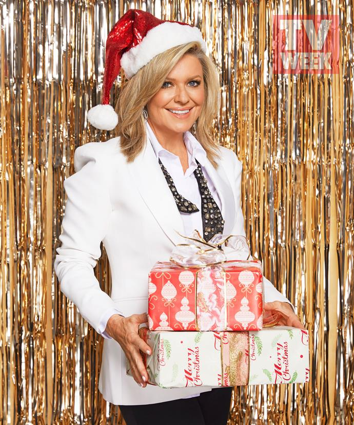 "**Emily Symons' four-year-old son Henry is ""very excited"" about Santa** <br><br> ""It's wonderful seeing Christmas through a little one's eyes,"" she says."