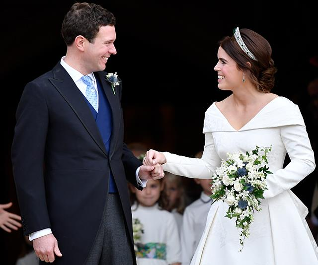 "**October 2018: The wedding of Princess Eugenie and Jack Brooksbank** <br><br> Royal weddings galore! Prince Andrew and Sarah Ferguson's youngest daughter Princess Eugenie married her long-time love Jack Brooksbank in [a ceremony at St George's Chapel](https://www.nowtolove.com.au/royals/british-royal-family/princess-eugenie-wedding-dress-51694|target=""_blank""