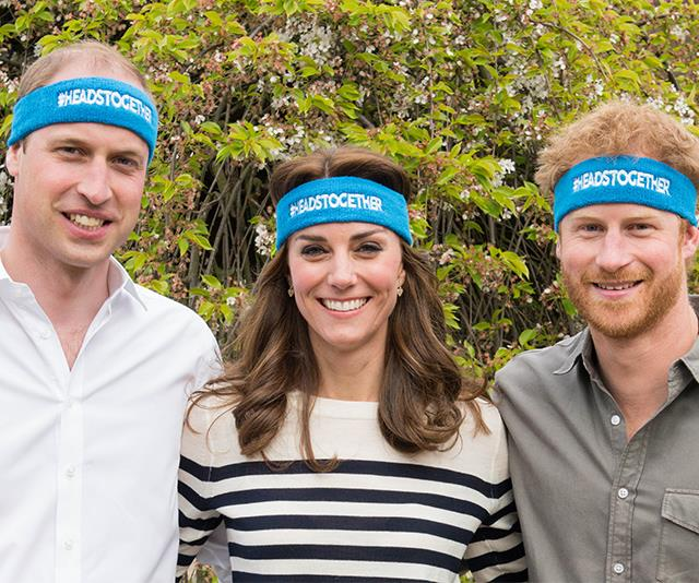 "**May 2016: William, Kate and Harry launch Heads Together** <br><br> In one of their most poignant moves to date, Prince William and Kate teamed up with Prince Harry to launch a brand new mental health campaign called Heads Together. The [incredible charity](https://www.nowtolove.com.au/royals/british-royal-family/royals-catherine-wills-and-harry-mental-health-campaign-19795|target=""_blank"") continues to work with various organisations to this day to support those dealing with personal battles."