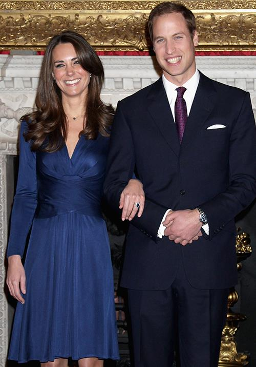 "**November 2010: Prince William and Kate Middleton announce their engagement** <br><br> In a moment that collectively took the entire world's breath away in the greatest way possible, Prince William and Kate Middleton [announced their engagement](https://www.nowtolove.com.au/royals/british-royal-family/kate-middleton-prince-william-pda-moments-61773|target=""_blank"") in 2010. The news was a decade in the making, so naturally, hearts were melting everywhere - quite rightly so."