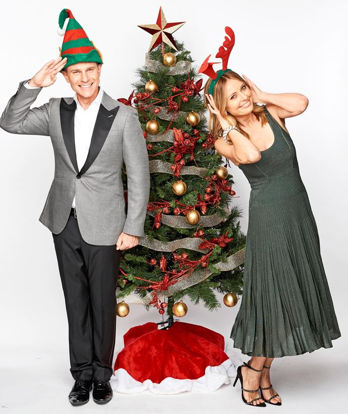 David Campbell and Allison Langdon are hosting Vision Australia's Carols By Candlelight.