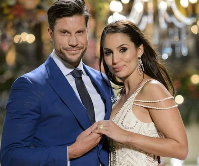 Sam and Snezana met on *The Bachelor* in 2015 and have gone on to become one of the franchise's success stories.