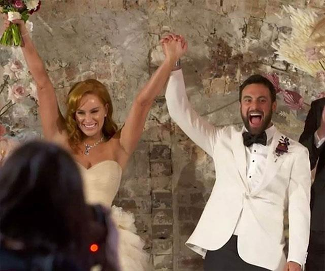 *MAFS* stars Jules and Cam tied the knot on TV, but Sam said he and Snez were glad to wed away from the camera's prying eyes.