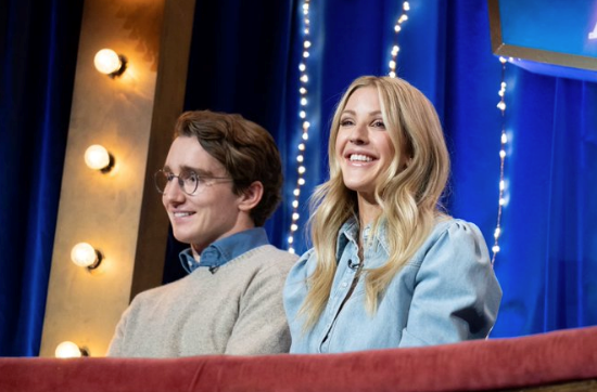 Ellie Goulding attended the show with her new husband, Casper Jopling.