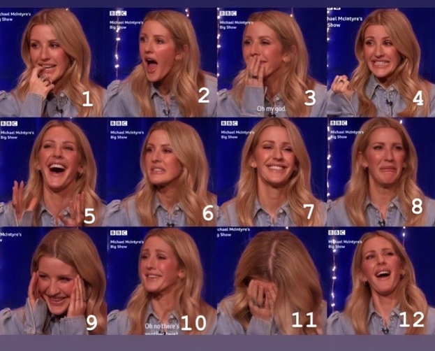 Bit embarrassing was it Ellie?