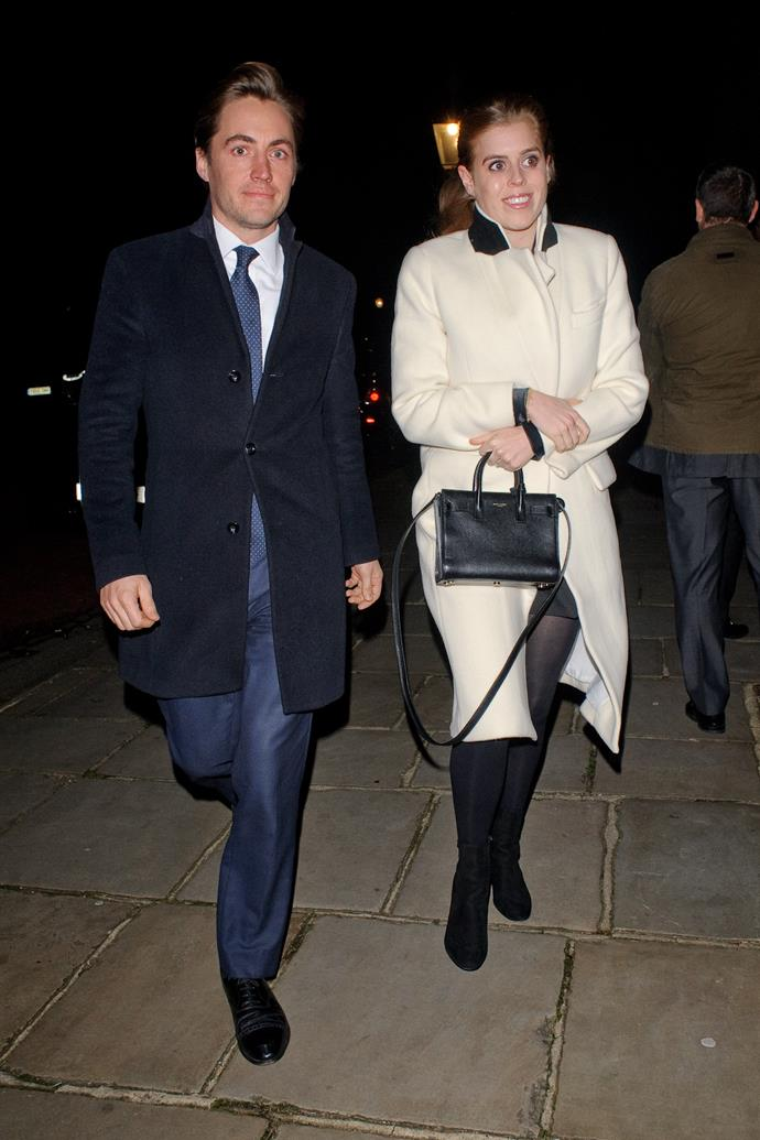 Princess Beatrice's engagement party was toned down considerably following her father, Prince Andrew's scandal.