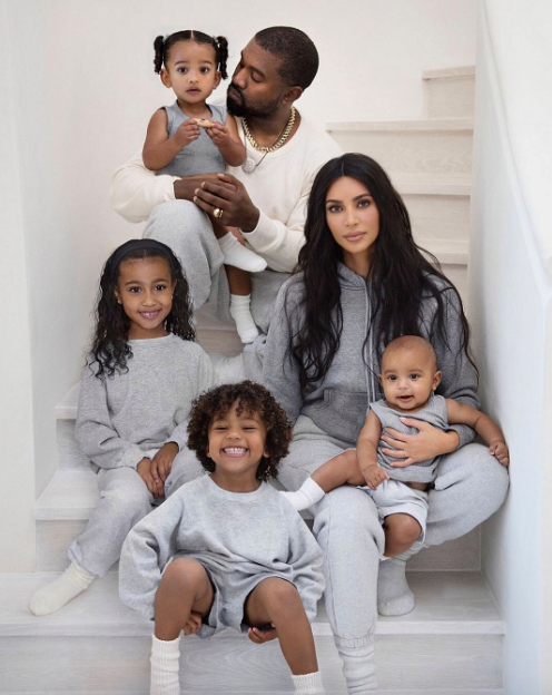 Kim's youngest children Chicago and Psalm were born via surrogate.