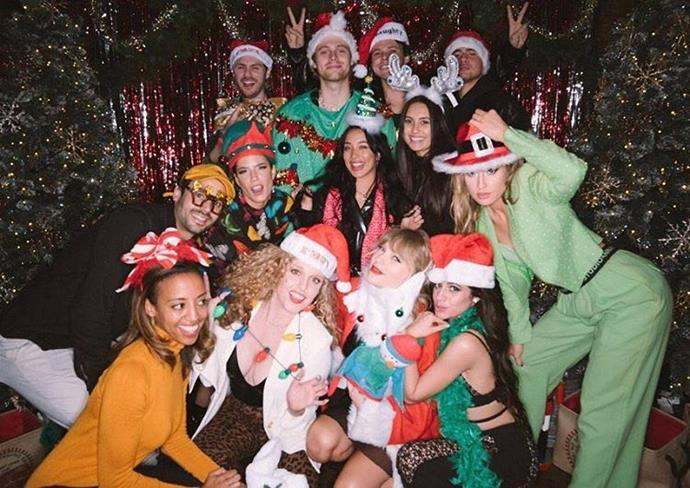 Technically the celebrations were for Taylor Swift's 30th birthday, but this Christmas party with guests including Halsey, Camila Cabello and 5 Seconds Of Summer sounds pretty epic!