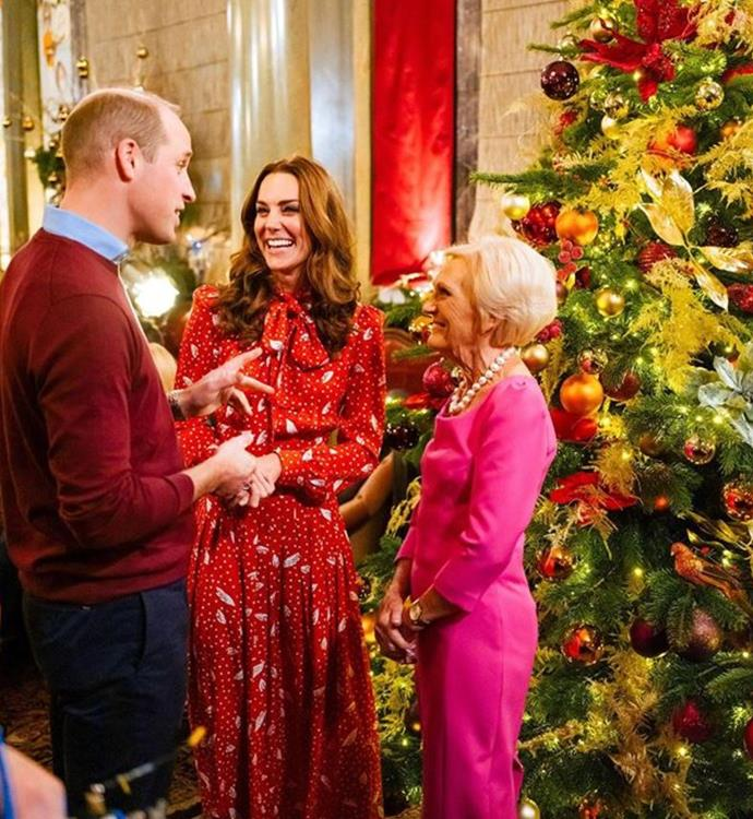 Duchess Catherine and Prince William's TV Christmas special has taken the world by storm.