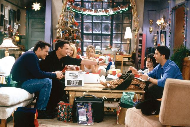 """**Friends (Stan)** <br><br> ***Season 2, Episode 9 – """"The One With Phoebe's Dad""""*** <br><br> This one scores an honourable mention, because it's kind of hard to pick just one *Friends* episode out of 10 seasons. <br><br> Who could forget Chandler and Joey helping Phoebe through the emotional turmoil of meeting her real father? Or when they returned to the group just in time to deliver them awful Christmas presents like wiper blades and condoms?  <br><br> Not to mention, the rest of the crew had an uncomfortably tropical Christmas party in Monica and Rachel's apartment when the heating broke, while Ross desperately tried to win Rachel over after writing a nasty list about her. An A++ episode all around."""
