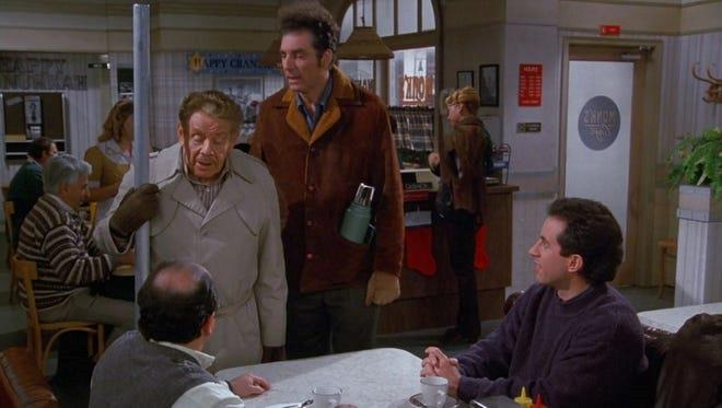 """**Seinfeld (Stan)** <br><br> ***Season 9, Episode 10 – """"The Strike""""***  <br><br> Along with Elaine's misadventures in giving a man a fake phone number, the gang are introduced to the Costanza family holiday tradition of celebrating """"Festivus."""" <br><br> Invented by George's dad Frank, Festivus is a secular holiday celebrated on December 23 as an alternative to the pressures and commercialism of the Christmas season.  <br><br> In this episode, their Festivus celebrations are thrown off track by rogue girlfriends, the attendance of George's boss and random men from a betting parlour who have a thing for Elaine. It's glorious madness."""