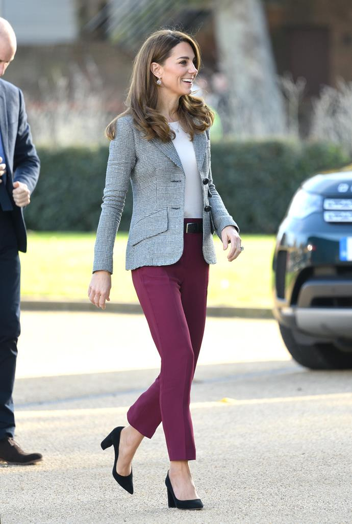"""In November 2019, Kate attended a celebration for [Shout](https://www.giveusashout.org/