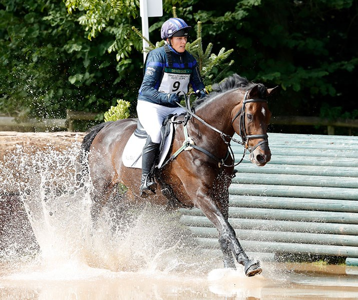 Zara Tindall competed in the Whatley Manor Gatcombe International Horse Trials in September this year, riding her horse, Gladstone. Getty Images