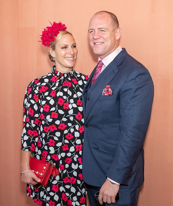 Zara and Mike Tindall attend the Magic Millions Raceday at the Gold Coast Turf Club in January, 2019 on the Gold Coast. Getty Images