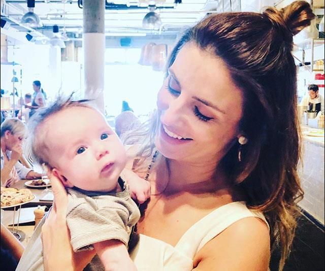 """Ada Nicodemou """"finally got to meet"""" her former on-screen husband Charlie Clausen's baby Iona, [shortly after she was born in November 2019.](https://www.nowtolove.com.au/parenting/celebrity-families/charlie-clausen-ada-nicodemou-baby-60241