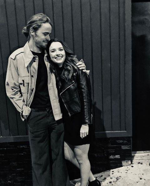 Alec Snow and Philippa Northeast hang out in LA.