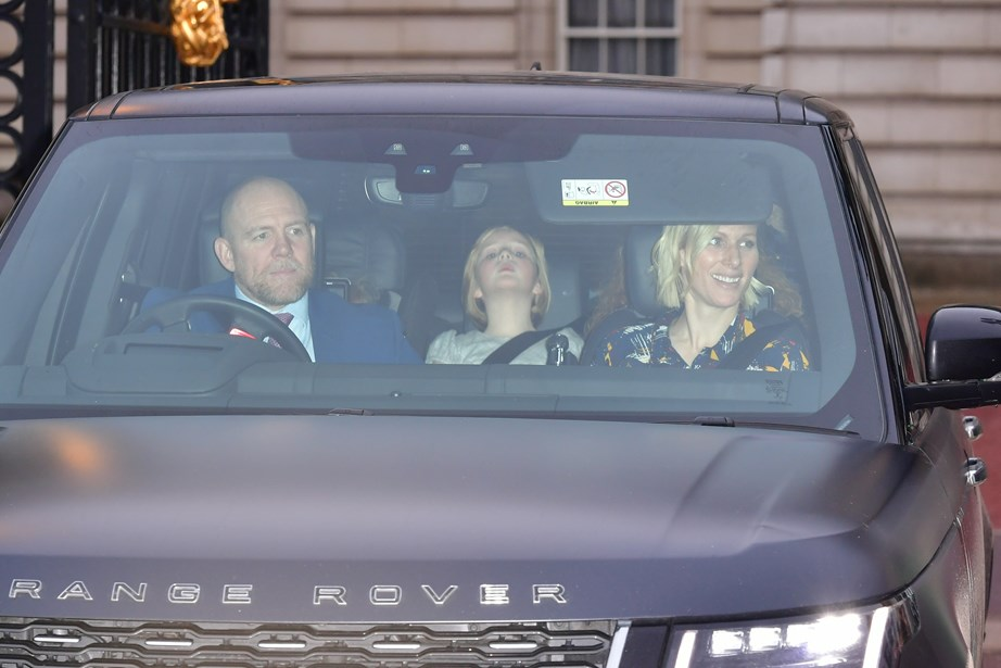 The Tindall family were also in attendance including their eldest daughter Mia. *(Image: Getty)*