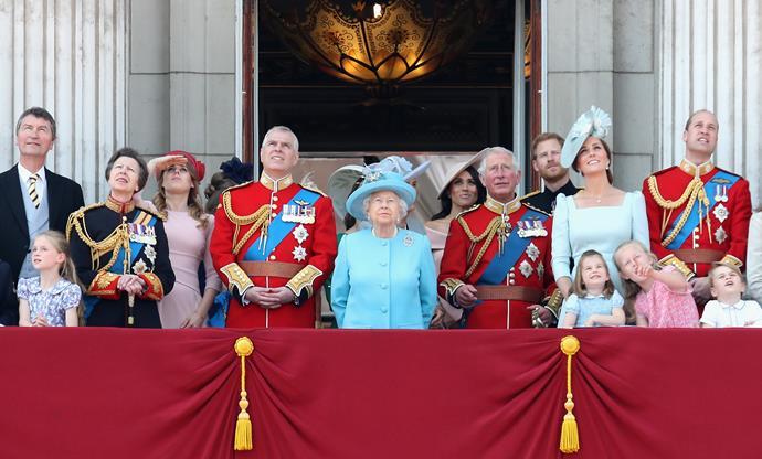 The royals have had a big year.