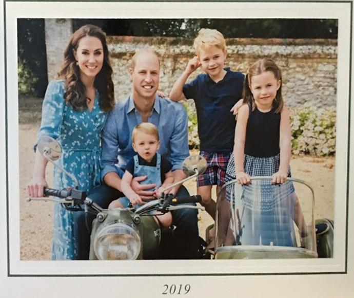 How perfect is the Cambridge family's brand new Christmas card photo?