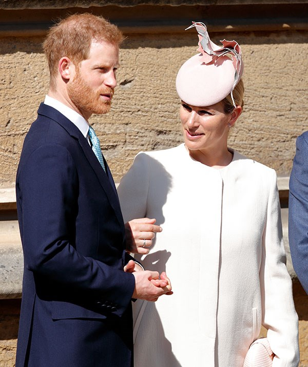 Zara and Mike remain close friends with Zara's cousin, Prince Harry, and attended Easter service together. Getty Images