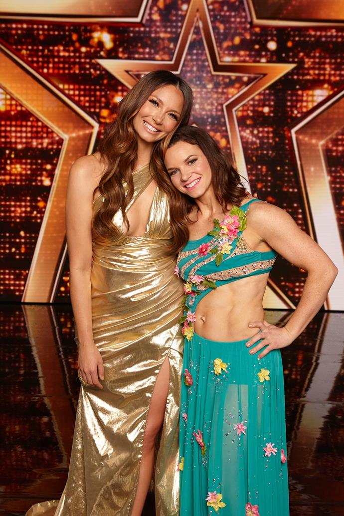 **KRISTY SELLARS' INSPIRING WIN (AUSTRALIA'S GOT TALENT)** <br><br> Pole-dancing mum Kristy (above right with Ricki-Lee Coulter) wowed both viewers and the *Australia's Got Talent* judges with her gravity-defying routines all season. Even more remarkable was that Kristy was on stage taking out the *AGT* crown just a year after giving birth to her third child.
