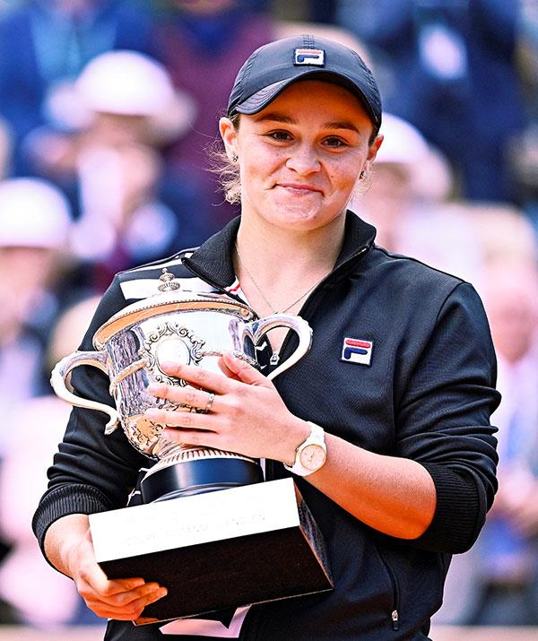 Ash Barty says life is more than just trophies.